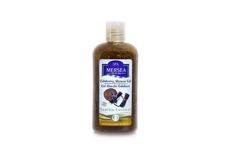 Mersea Sanftes Totes Meer Peeling-Duschgel Vanille-Kokos