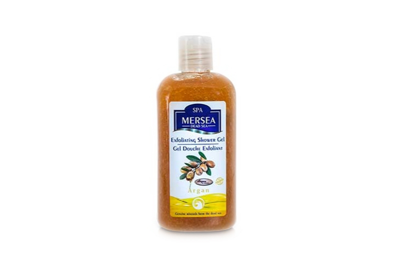 Mersea Sanftes Totes Meer Peeling-Duschgel - Argan
