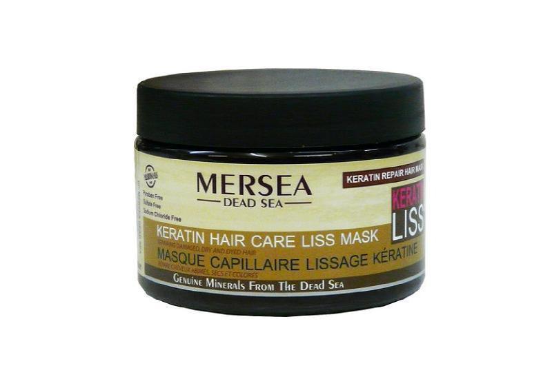 Mersea Keratin Hair Care Liss Maske für strapaziertes und geschädigtes Haar