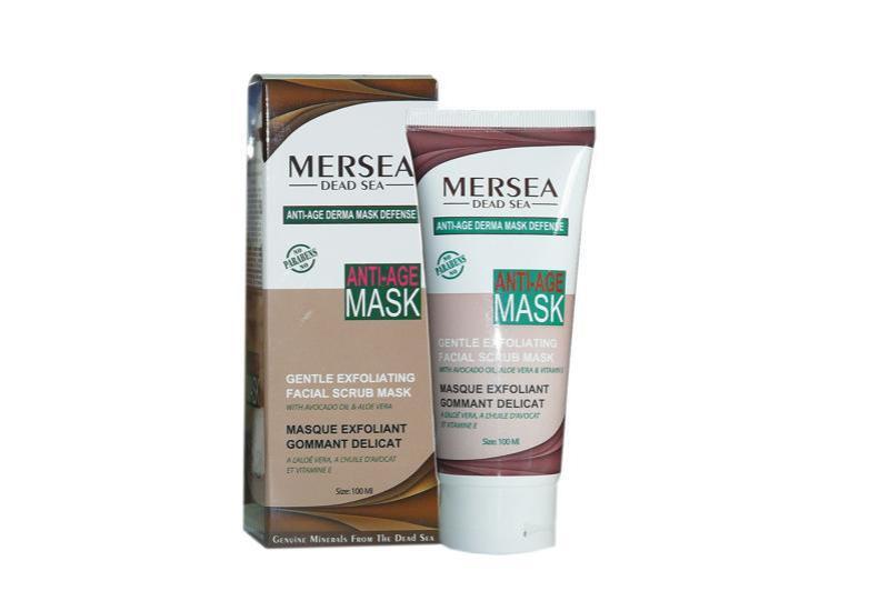 Mersea Anti Age Sanfte Peeling Gesichtsmaske mit Avocadoöl und Aloe Vera