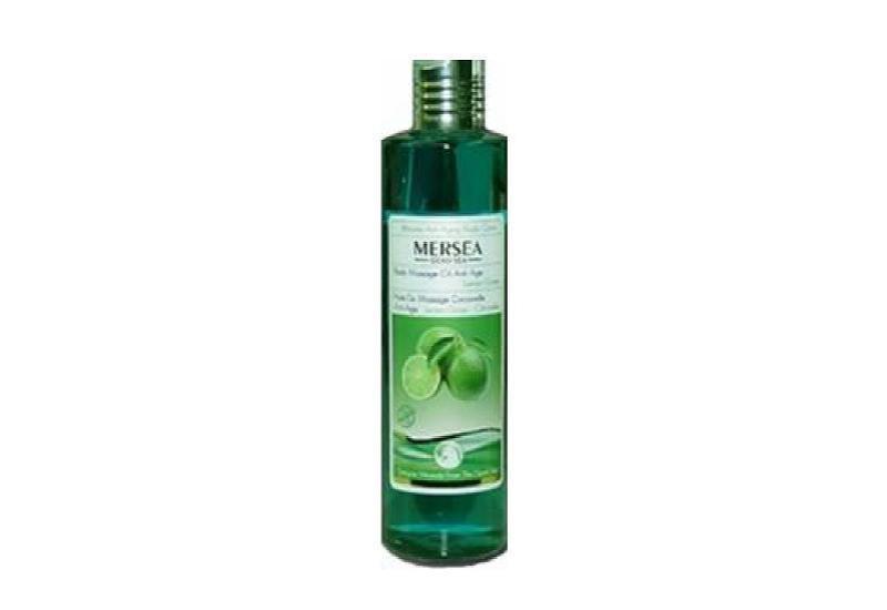 Mersea Totes Meer Aromatisches Massageöl - Zitronengrass