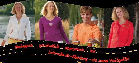 Bio-energetische Wellnessbekleidung und Naturtextilien