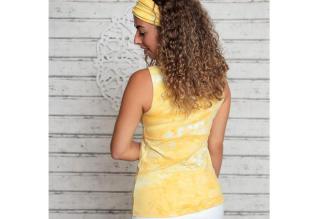 Batik Top Sonnengruß_Rücken
