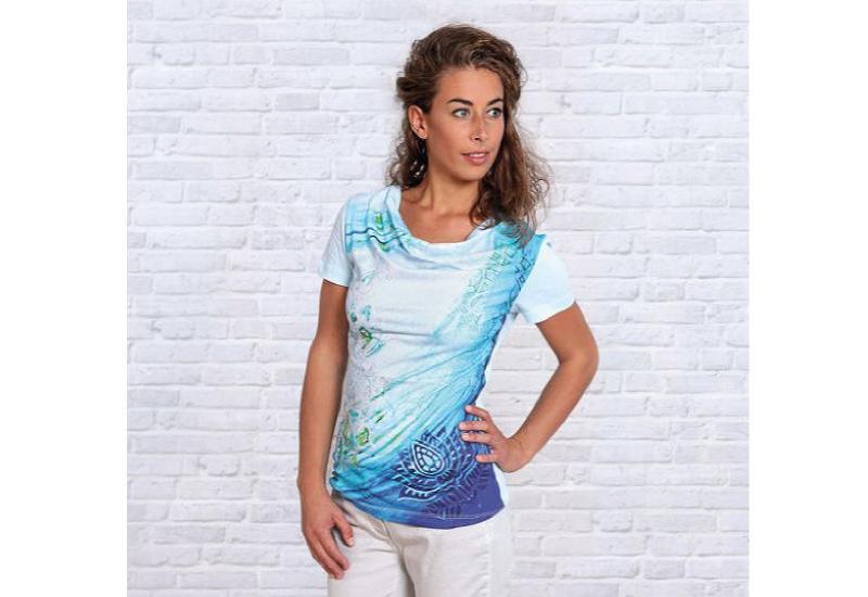 Shirt Blaue Lagune