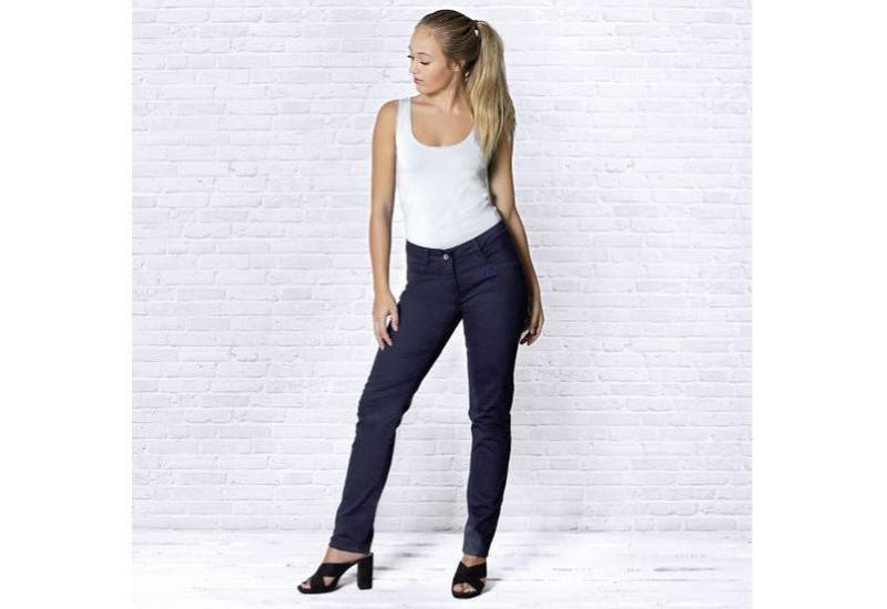 Bio-Jeans dunkelblau