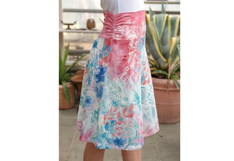 Sommerkleid karibic blue