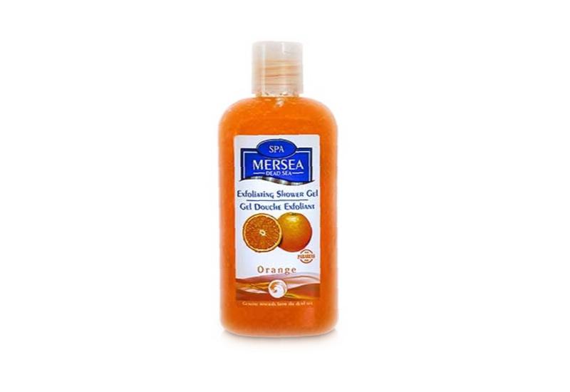 Mersea Sanftes Totes Meer Peeling-Duschgel - Orange