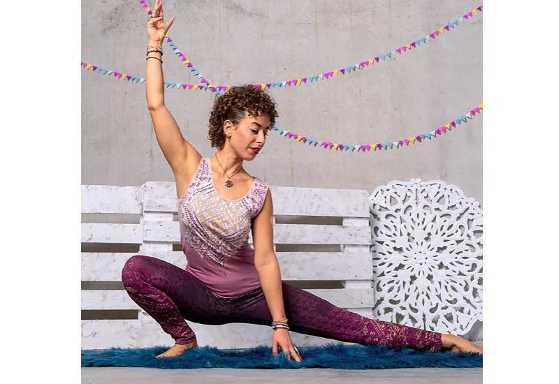 Yoga Top Bakti - amethyst