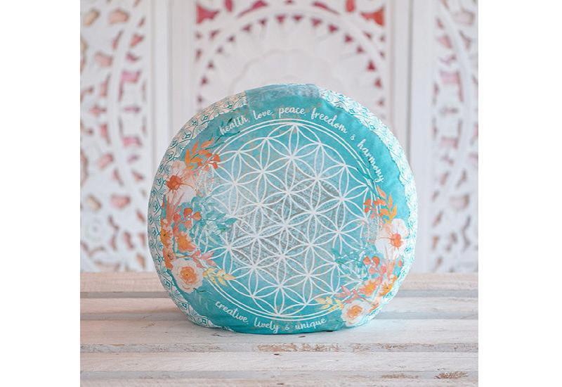 Meditationskissen jade-orange