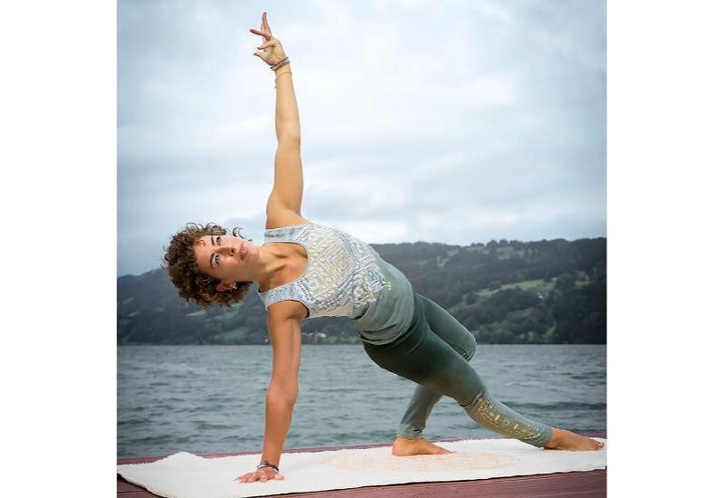 Yoga-Top - Bakti - green / smaragd